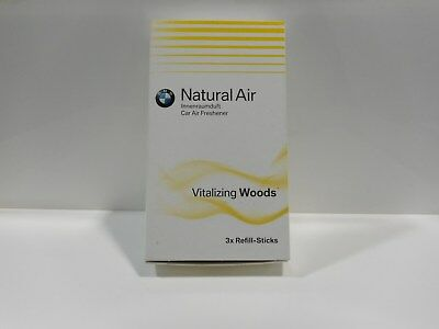Original BMW Natural Refill Kit Innenraumduft ''Vitalizing Woods'' 1Stick=2,83€