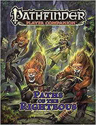 Pathfinder Player Companion: Paths of the Righteous, Staff, Paizo, Excellent Boo