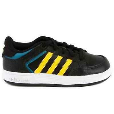 New Kids Baby Infant Boys adidas Varial Trainers black UK 4 - Q33266