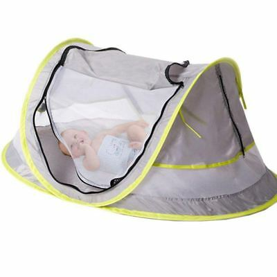 Baby Travel Bed, Portable baby beach tent UPF 50+ Sun Shelter, Baby Travel  L1D7