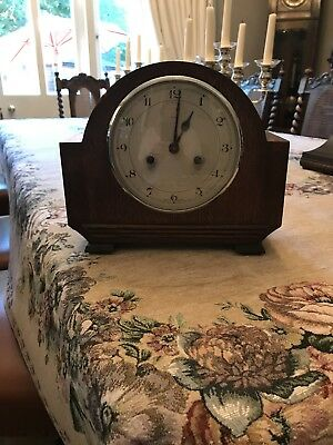 Vintage decorative mantel clock