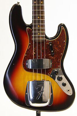 Fender CS: 1962 Jazz Bass Journeyman Relic 3Tone Sun Burst NEW