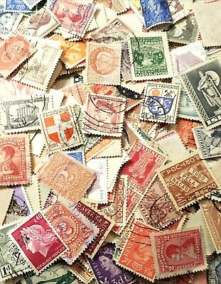 Lot of  12 pcs Old Vintage stamps 80 to 50 Year Worldwide Stamp , used Stamp