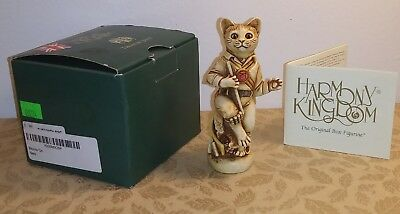 Rare Harmony Kingdom Morris On Cat Box Special Edition Signed BEST WISHES