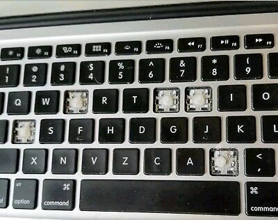 For US Macbook Air A1370,A1369,A1465,A1466 Individual Replacement keyboard keys