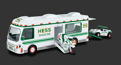 1998 Hess RV with Dune Buggy and With Motorcycle