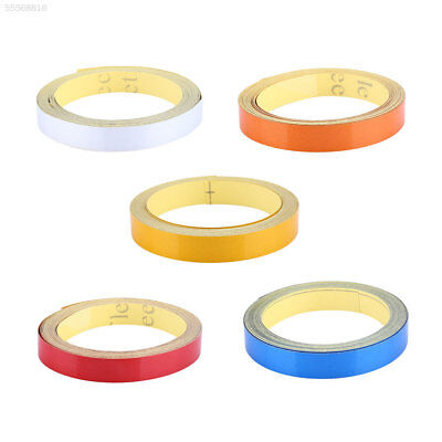 9888 5mx1cm Reflective Tape Stickers Film Car Styling Cycling Warning Safety