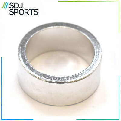 """Contec Mtb Road Bicycle Headset Stem Spacer 1 1/8"""" Inch Silver 15Mm Alloy"""