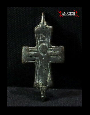 Antique Byzantine Cross – Christ the Redeemer - 10th-11th century – Holy Land
