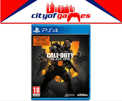 Call of Duty: Black Ops 4 Specialist Edition PS4 Game Brand New In Stock