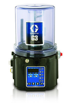 GRACO 96G073 G3 Pro 24 VDC 4L Pump w/M12 For Remote Follower Plate, Low Level,