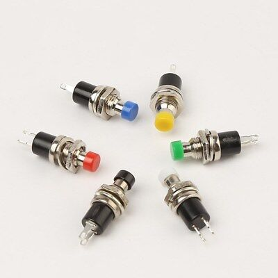 Normally Open/Closed Miniature Momentary Push Button Switch SPST PBS-110 3A 125V
