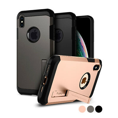 iPhone X/XS, XS MAX | Spigen® [Tough Armor] Protective Shockproof Case Cover
