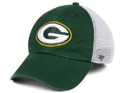 NFL GREEN BAY Packers  47 Brand Game Time Closer Stretch Fit Hat NEW ... d5c5f065e