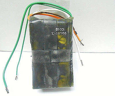 10-617988 Unison Industries Capacitor Assembly 5 Wire Lead New Old Stock