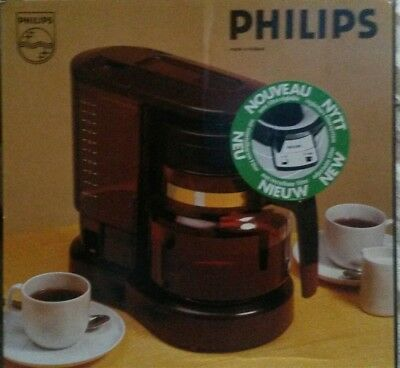 Vintage 70s/80s Philips coffee machine maker looks new in box HD5154