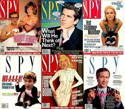 Spy Magazine's  - Huge Archive Collection 1986-1998 (100 Issues) DVD - Pdf's USA
