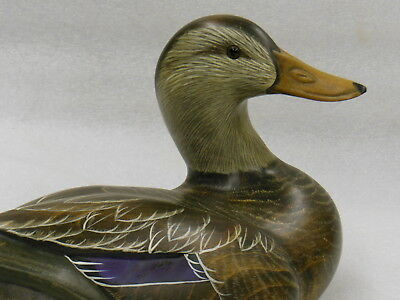 Wood DUCK DECOY Big Sky Carvers Masters Edition by Don Profote #964 of 1250