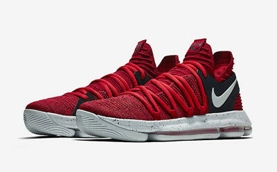 f0f5ff3896ee Nike Zoom KD10 SZ 6Y GG University Red Pure Platinum Kevin Durant 918365-600