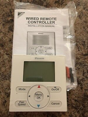 BRC1E73 Daikin Remote Controller A/C Thermostat Navigation New in Box