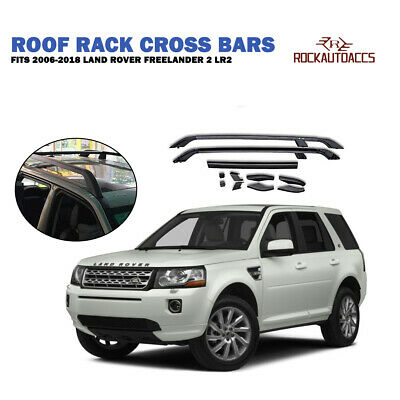 ROOF RACK WITH CROSS BAR FOR LAND ROVER FREELANDER 2 2006-2018 4Pcs Aluminium...
