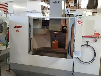 Used HAAS VF-2 CNC Vertical Machining Center Mill CT40 30x16 Rigid Tap 1994