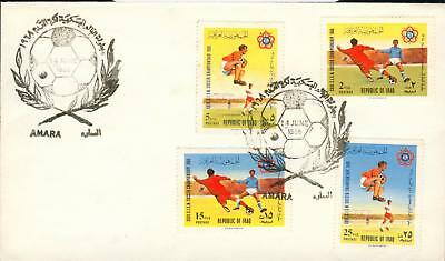 Iraq Irak Michel Nr. 530-533 FDC football Fußball he28