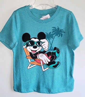 Old Navy Boys 12-18 18-24 MONTHS 2T 3T 4T 5T Mickey Mouse Tee Shirt Top Disney