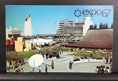 Expo67 Montreal Canada Picture Post Card 1967 Worlds Fair