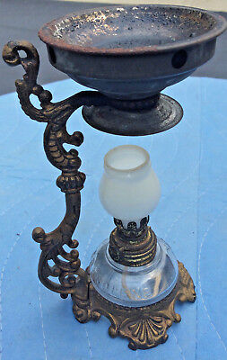 Cresolene Vapo Medical Vaporizer; Burner/ Stand ; Complete; Original; c1880s-90s