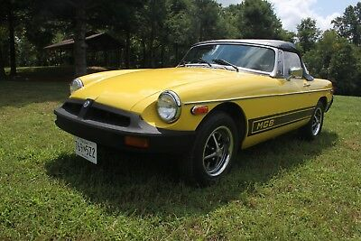 1980 MG MGB Roadster NO RESERVE Just Restored and Ready to Drive! 1800cc 4-speed FUN IN THE SUN!