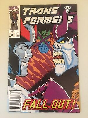 Transformers 77 Marvel Comic Book Rare Low Print Run Htf Final Issues! Free S/h