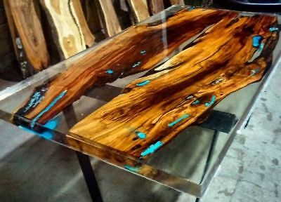 CRYSTAL CLEAR EPOXY RESIN 2:1 - Artwork, Jewelry, Floor, River tables, Boats