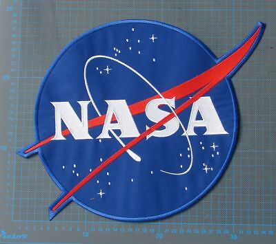 NASA Seal Patch AB EMBLEM ORIGINAL  huge back pactch sew on embroidery