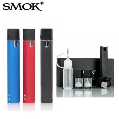 1SMOK Fit Kit 250mAh Battery 2ml Tank ALL IN ONE US SELLER smoke fit pod1 system