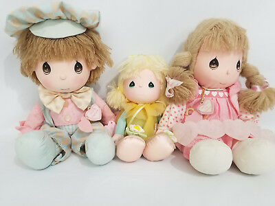 Vintage Precious Moments Applause Dolls Lot of 3