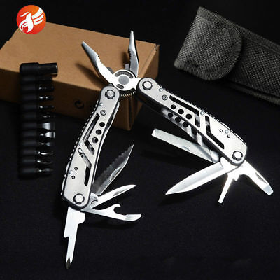 Jeep 24 Tools In One Multi Tool Pliers Convenient Trim Kitchen Lederman Camping