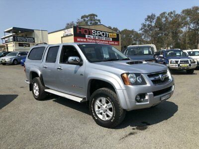 2011 Holden Colorado RC MY11 LT-R Silver Manual 5sp M 4D UTILITY
