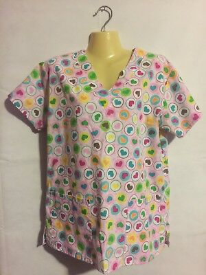 Womens Pro Active Nusing Scrubs Size S