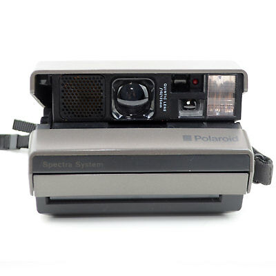 Polaroid Spectra System Instant Film Camera Works