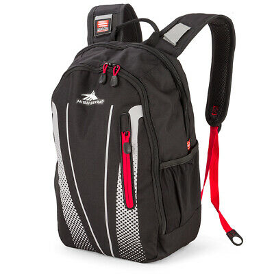 NEW High Sierra Fusion Backpack Black/Red