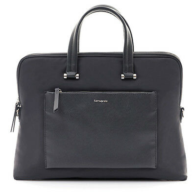 NEW Samsonite Zalia SPL Slim Briefcase Black