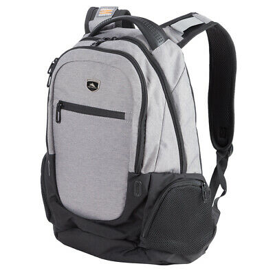 NEW High Sierra Houston Laptop Backpack Charcoal Black