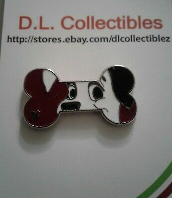 Disney 101 Dalmations Hidden Mickey dog bone Lucky Pin