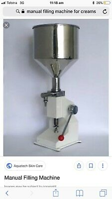 Manual Filling Machine For Creams And Liquids