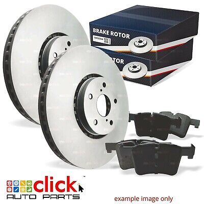Disc Rotors and Brake Pad SET for REAR Ford FALCON BA BF FG 2002-16