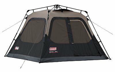 Cabin Tent 4 Person Family Coleman Camping Equipment Outdoor 8' X 7 Waterproof