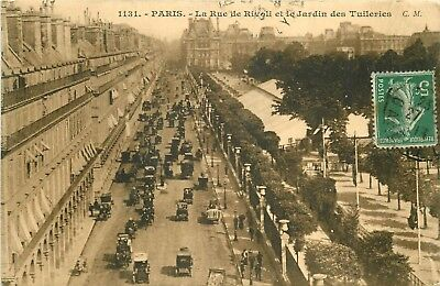 Promotion d'un lot de 10 cartes postales sur PARIS. Lot n°2 superbe et rare.
