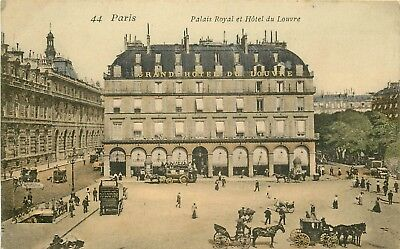 Promotion d'un lot de 10 cartes postales sur PARIS. Lot n°1 superbe et rare.