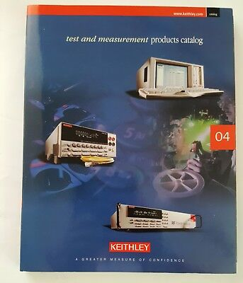 Keithley Test and Measurement Products Catalog 2004
